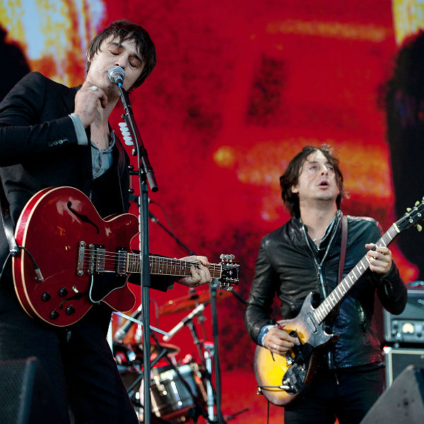 Footage of The Libertines rehearsing old songs for Hyde Park emerges