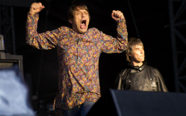The Stone Roses complete second night at rain-soaked Heaton Park