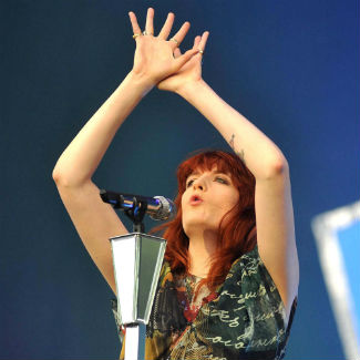 Florence + The Machine and Kasabian perform at Reading today