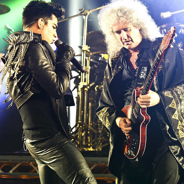 Watch: Queen + Adam Lambert give 'Love Kills' its live debut