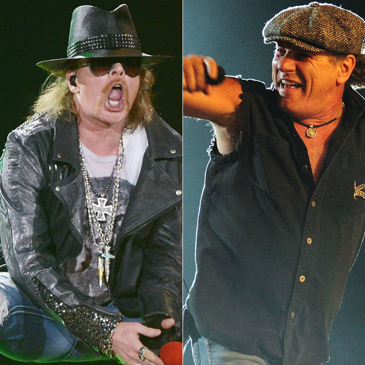 AC/DC interview on ticket refund for Axl Rose world tour 2016