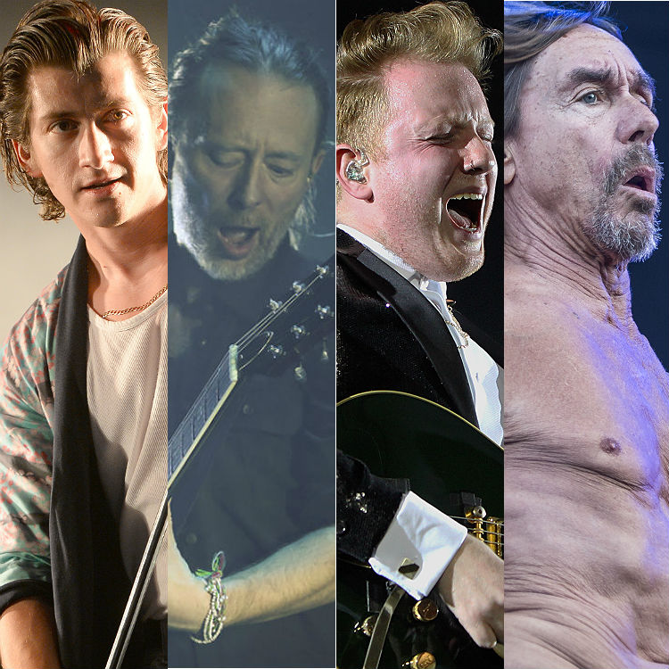 Glastonbury secret set rumours, Last Shadow Puppets Radiohead Iggy Pop