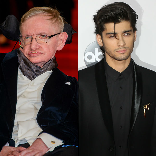 One Direction Zayn Malik exit explain by Stephen Hawking