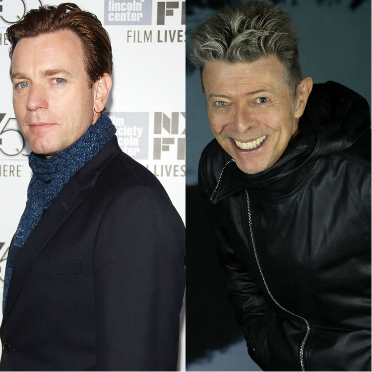 Ewan McGregor covers Heroes by David Bowie at tribute gig funeral