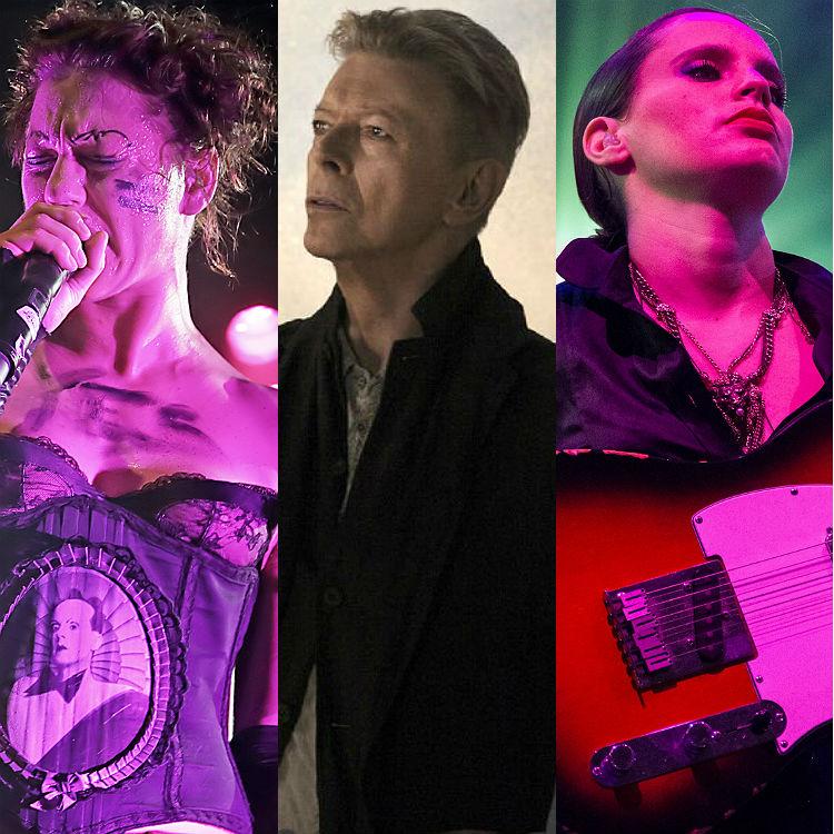 Amanda Palmer, Jherek Bischoff, Calvi David Bowie string tribute album