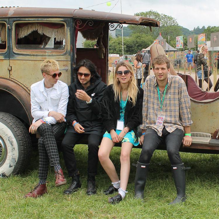 Wolf Alice Glastonbury interview on fans, The 1975, Brixton next album