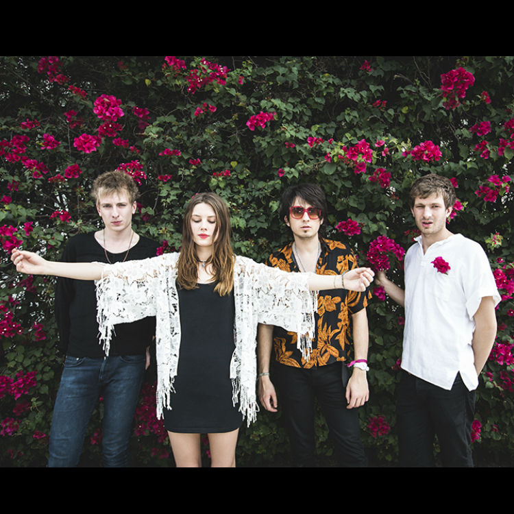 Wolf Alice interview on Glastonbury, Kanye West, Drenge, Kim flag