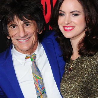 Photos: Ronnie Wood marries girlfriend of six months