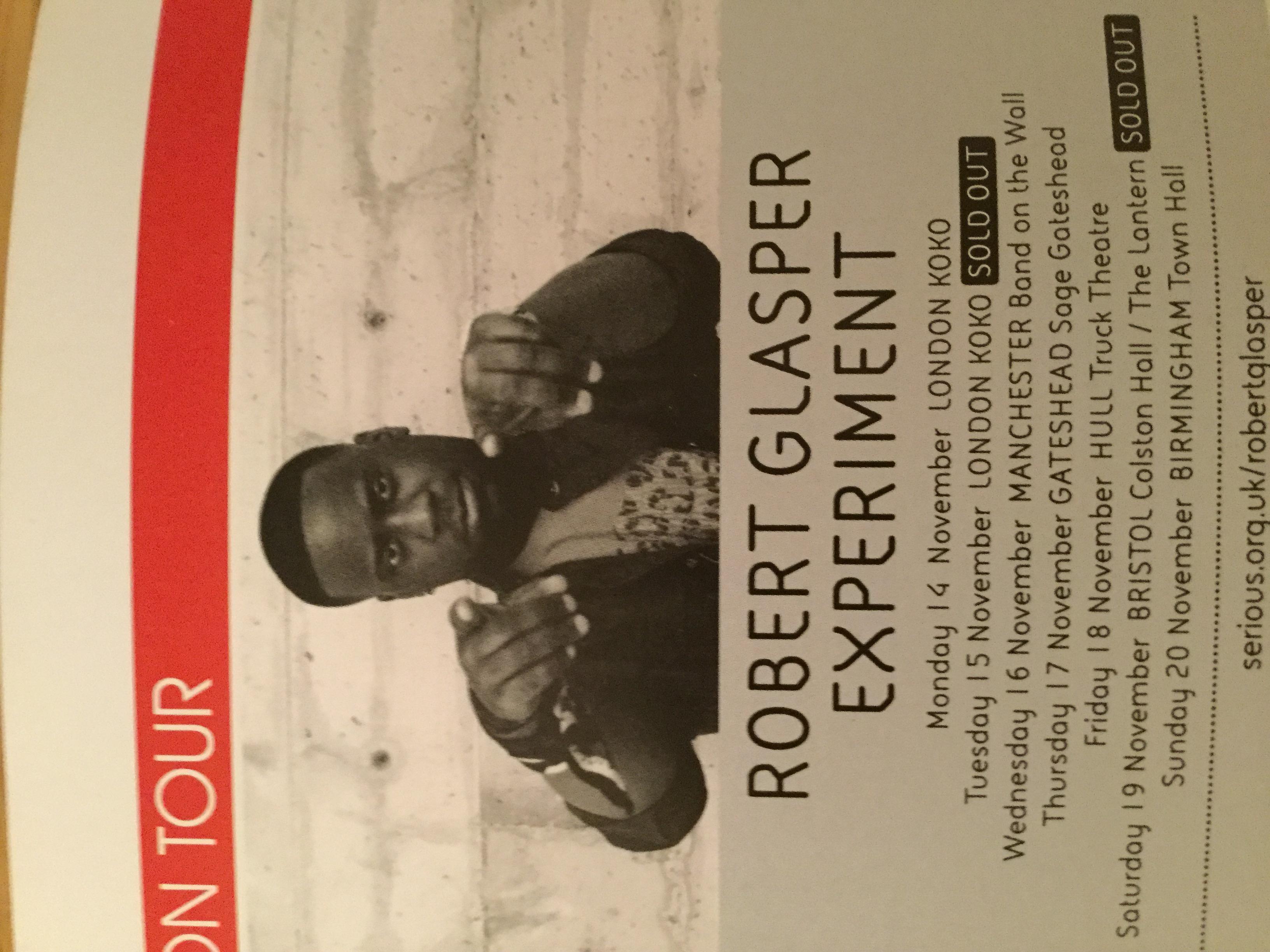 Live Review The Robert Glasper Experiment, Koko, EFG London Jazz Festival 14/11/16