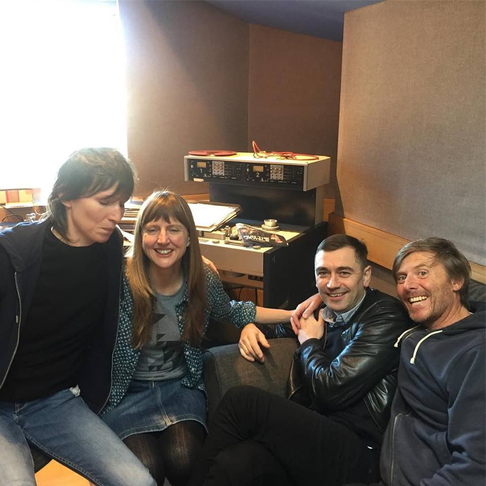 Elastica are back together in the studio