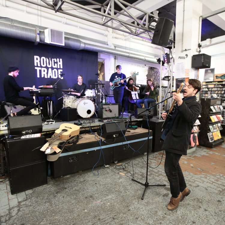 Money live tour photos, London, Rough Trade East