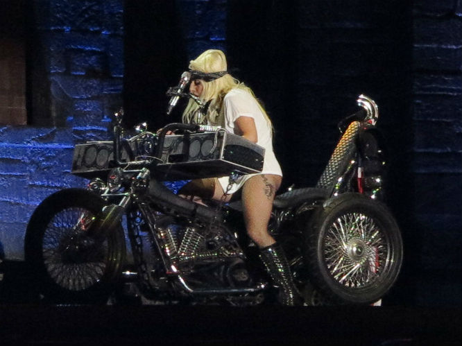 Lady Gaga: Born This Way Ball live at Twickenham Stadium, London. 08.09.2012