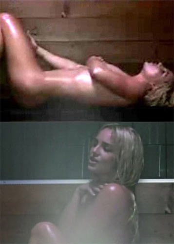 50. Britney Spears: 'Womanizer'- Following her mental meltdown, people knew the pop star would need to return to the fray with a bang and it does just that in style. Directed by Joseph Kahn, in one scene we see a an oiled-up Britney writhing around completely naked in a sauna. Duly, it secured the singer endless column inches around the globe.