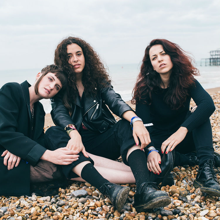 We went to the beach with MUNA at The Great Escape