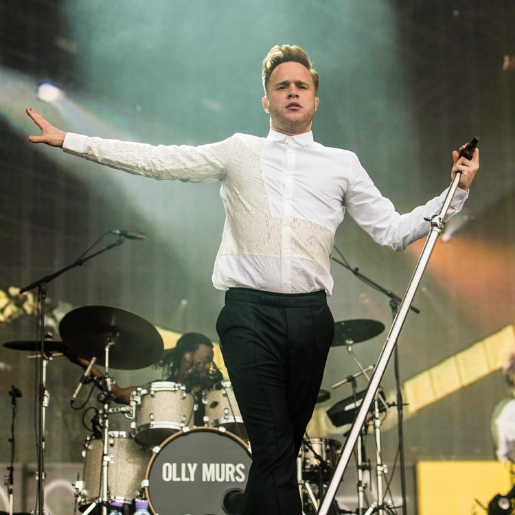 Olly Murs live gig photos Hyde Park British Summer Time
