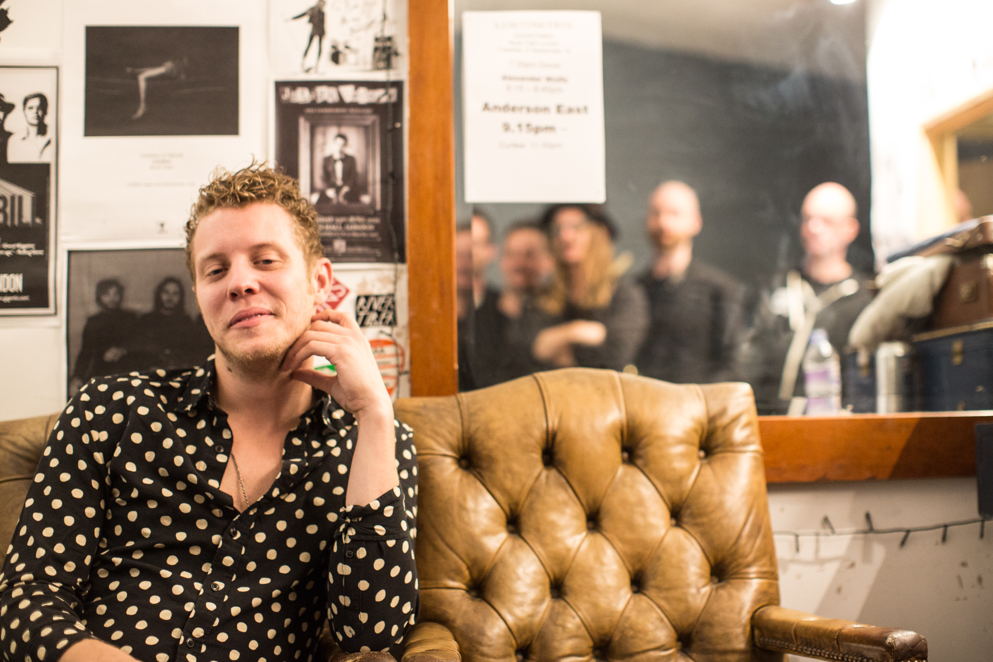 Anderson East at Bush Hall live Alabama blues newcomer September tour