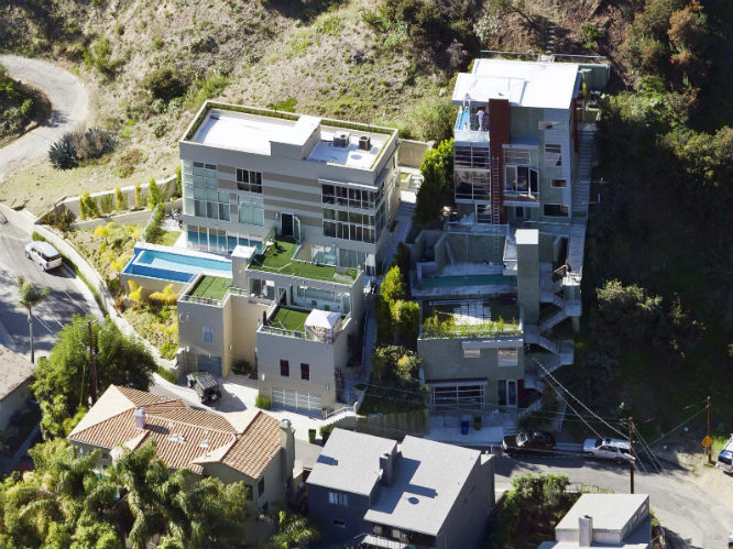 Chris Brown: The 'Turn Up The Music' star and Rihanna-beater lives in this $1.6m house in the Hollywood Hills