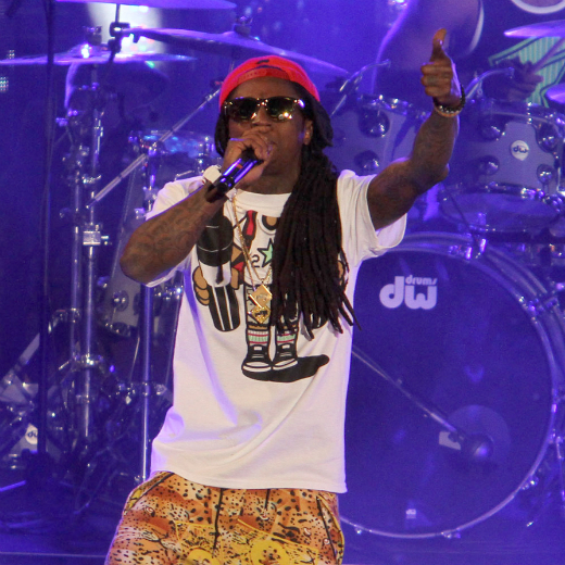 Lil Wayne - Stratford, London - 2008. When America&#39;s hottest rap star came to Stratford, he was dragged offstage after 23 minutes when the crowd refused to stop pelting copper coins at him.