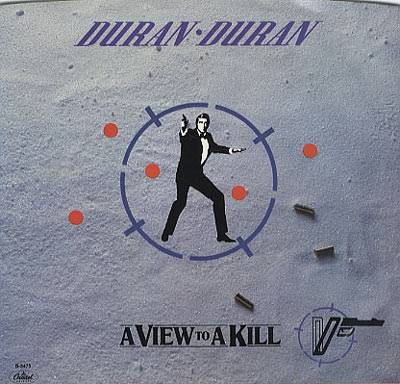 1. Duran Duran: 'A View To A Kill' (A View To A Kill, 1985) – The song was penned by John Barry alongside the band themselves, ensuring that it had an imprint from both sides – the 60 piece orchestra and grand arrangements of Barry together with the pop sensibilities of Duran Duran. The song appears at the zenith of our list no doubt thanks to Duran Duran's enduring popularity and hardcore fan base.