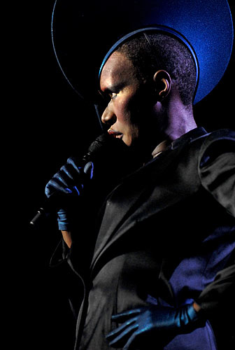Grace Jones in Manchester