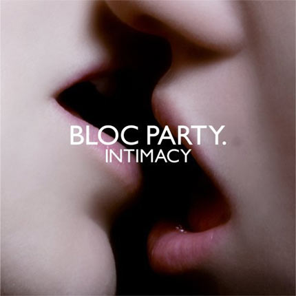 23. Bloc Party: 'Intimacy' - A close-up, intimate and rather ambiguous photo of a couple getting, erm, intimate.