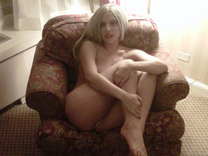 Lady Gaga: Ah, Gaga - so many naked photos to choose from! We went for this one - nice and simple. Because who doesn''t get naked on a chair and ask someone to take a photo of them? Come on, we''ve all been there...