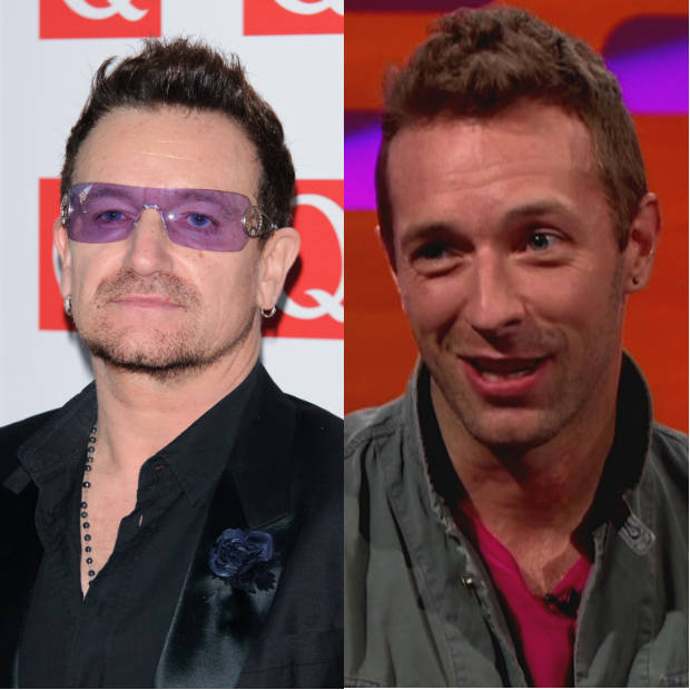 Bono vs. Chris Martin: Appearing on BBC&#39;s Radio 1 in 2010, the U2 front man began a train of thought about Chris Martin&#39;s songwriting being on a par with Paul McCartney before sending it crashing into far more alarming territory. I think he&#39;s that good a melodist, he said. I mean, he&#39;s a w*nker... he&#39;s a completely dysfunctional character and a cretin but he happens to be a genius melodist. He then sheepishly added that he was joking entirely as Jo Wiley desperately tried to salvage her radio show. 