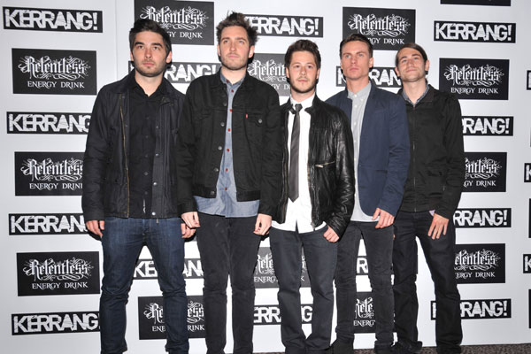 You Me At Six @ Kerrang Awards 2012