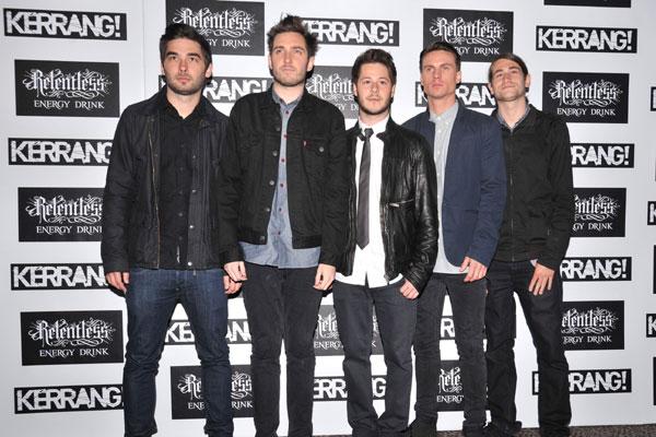 You Me At Six @ Kerrang Awards 2012