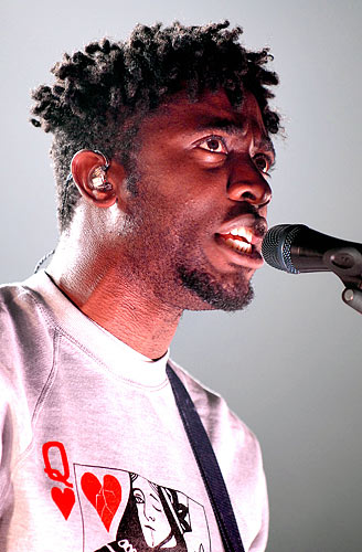 Kele Okereke of Bloc Party 