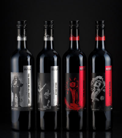 AC/DC have teamed up with Australian winery Warburn Estate to launch their own range of the alcohol drink.
