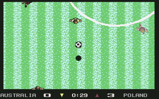 10. Microprose Soccer (1988) - Sensible Software's first venture into football games, and a wonderful taster of things to come. The top-down scrolling pitch was small enough to enable you to not get lost, and with sliding tackles, throw-ins and difficult goalkeepers all thrown in, this was perhaps the first great simulation.