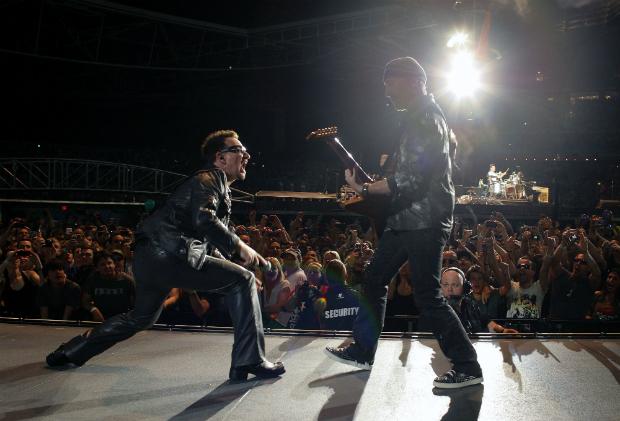 1. U2: $195 million (�121 million)