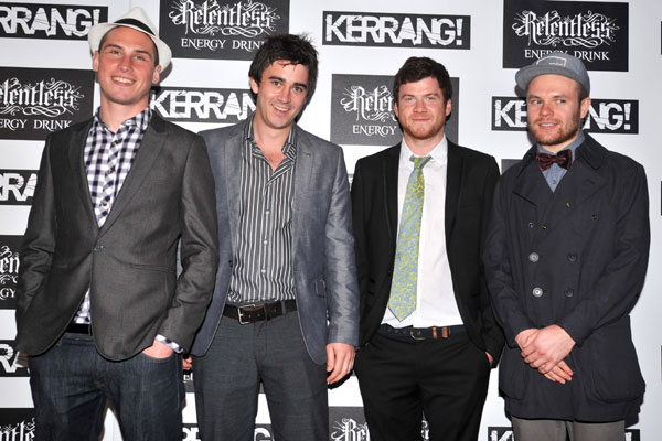 Enter Shikari @ Kerrang Awards 2012