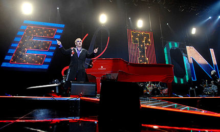 Sir Elton John in Manchester 
