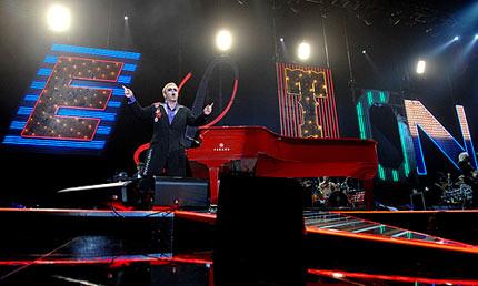 Sir Elton John in Manchester