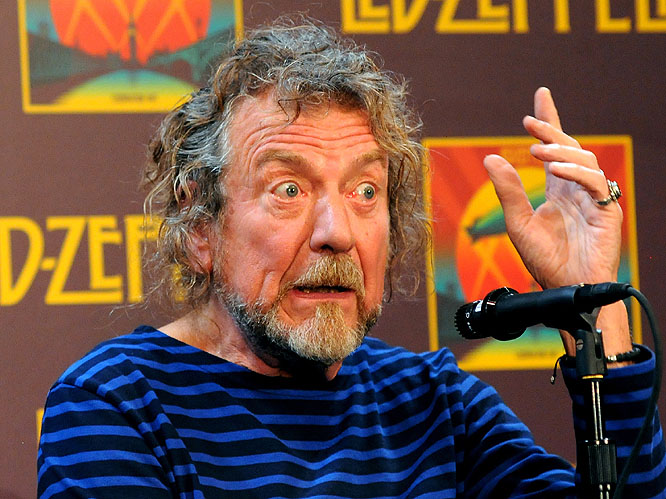 Robert Plant: Led Zeppelin frontman Plant got his knickers in a twist this week over a 'schmuck' journalist in New York asking him questions about the future of the band. The Zeppelin frontman expressed his grumpiness at being asked about a Led Zeppelin reunion at every press conference, not quite sure what he expects given the fact the band haven%u2019t actually clarified their status?