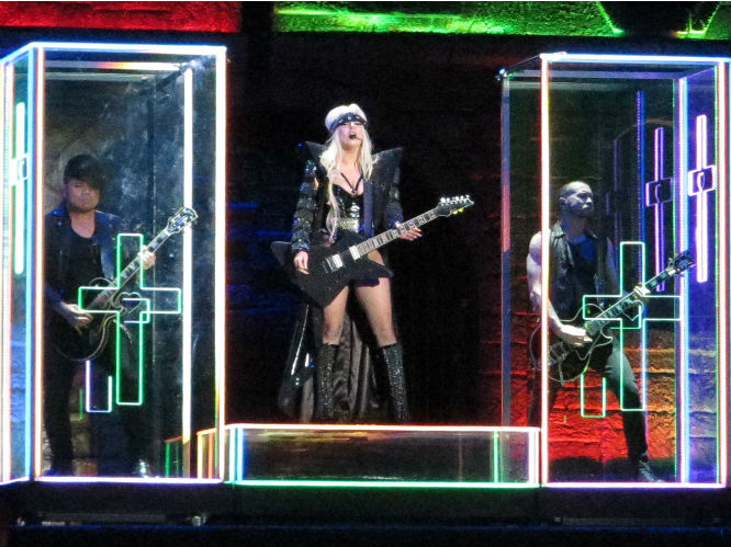Lady Gaga: Born This Way Ball live at Twickenham Stadium, London. 08.09.2012