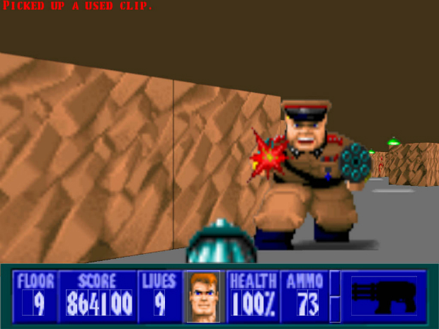 Wolfenstein 3D (1992)