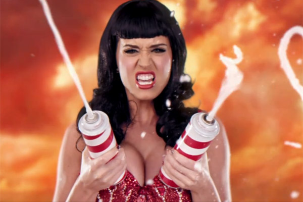 Katy Perry 'California Gurls': Katy Perry's cream explosion in retaliation to Snoop Dogg is one of music's finest food porn moments. No question.