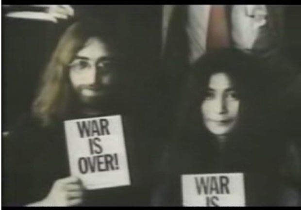 John Lennon and Yoko Ono - One of the most powerful music couples of all time, John Lennon and Yoko Ono married in 1969.  The pair had son Sean on Lennon's 35th birthday, October 9, 1975.