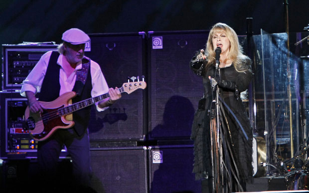 Fleetwood Mac - Stevie Nicks, love triangles, 'The Chain', nuff said.