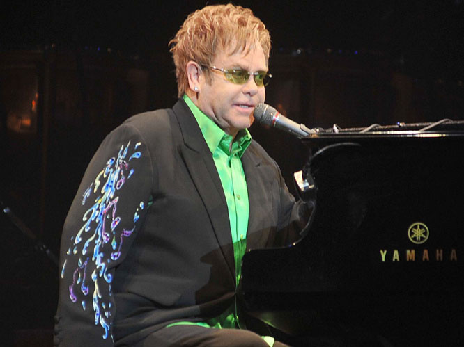 Elton John - Elton's 31st album is due for release in March, as is Timberlake's third album. Justin played a young Elton  in a music video once, and if their respective tours happen to cross paths, just maybe Elton will put in an appearance with JT.