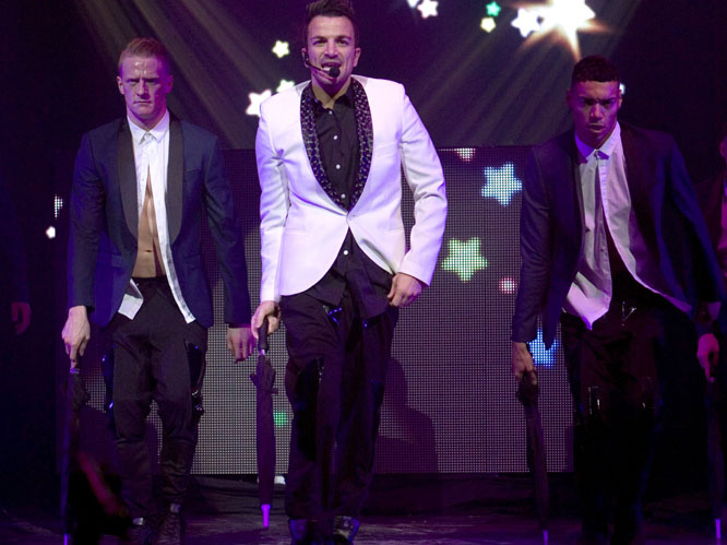 Peter Andre - Clyde Auditorium, Glasgow - 25/11/2012