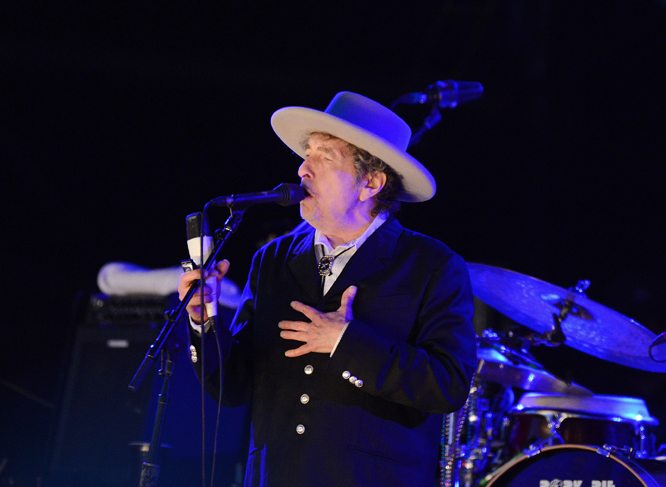 Bob Dylan: The icon is reportedly recording material for a new album, so expect a few unknown tracks alongside the many, many classics.
