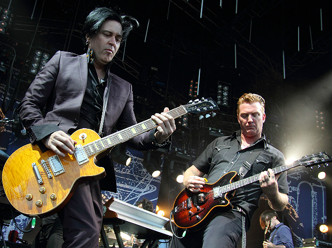 Queens of the Stone Age: Josh Homme and co have just released one of the best rock records of the year so far. It would be a shame for them to not tear a hole in Glastonbury.