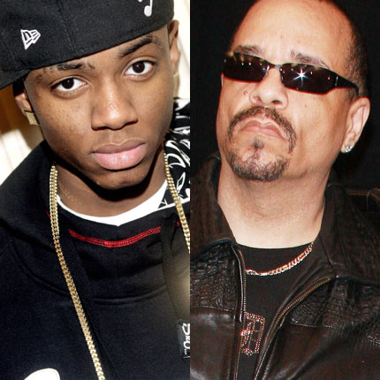 Soulja Boy vs. Ice-T: Last summer Ice-T appeared on DJ Cisco's Urban Legend mixtape, on it he taunted Soulja Boy and blamed him for killing hip-hop and called his 'Crank That' hit garbage. In response, Soulja Boy posted a video on YouTube where he was reading from Ice-T's wikipedia page, saying �%u20AC%u0153this nigga was born in 1958...you was born before the internet was created; how the fuck you even find me?