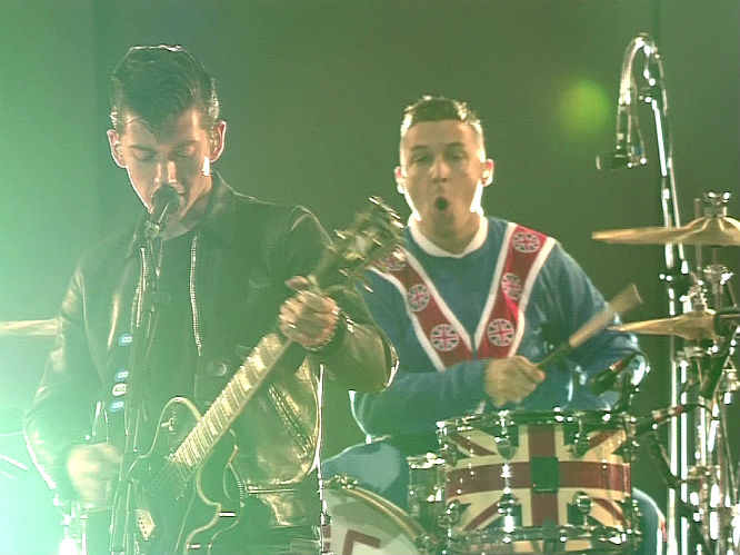 The Arctic Monkeys have begun recording their fifth album, and it has been confirmed by none other than drummer Matt Helders' mum!  