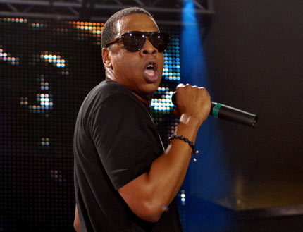 Jay-Z at the  Last Chance for Change concert