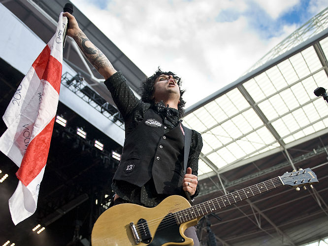 He's one hell of a frontman: You'd have to be stone-cold dead to not feel moved at a Green Day gig - helmed by the awesome showmanship of Billie Joe. All together now: